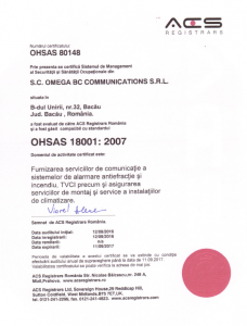 ISO 18001: 2007